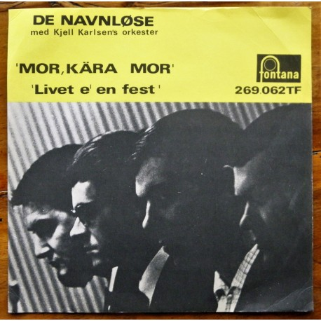 De Navnløse- Med Kjell Karlsens Orkester