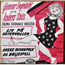 Gunnar Engedahl og Anders Saus- Liv på setervollen (Vinyl)