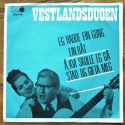 Vestlandsduoen- Eg hadde ein gong ein båt (Vinyl)