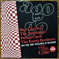 Coca-Cola- A Go-Go (vinyl- norsk)