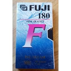 Fuji 180 F - Ny VHS-opptakskassett