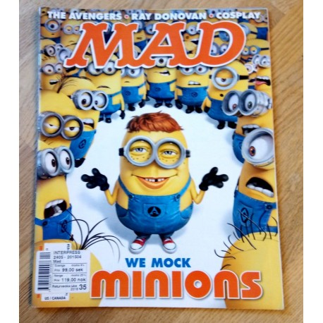 MAD - 2015 - August - Number 534 - We Mock Minions