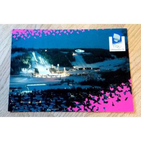 Postkort: Lillehammer 1994 - Lysgårdsbakkene Hoppanlegg
