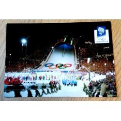 Postkort: Lillehammer 1994 - Avslutningsseremonien