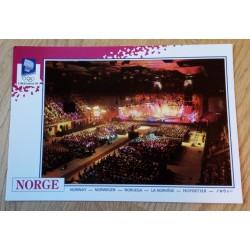 Postkort: Lillehammer 1994 - Gjøvik Olympiske Fjellhall