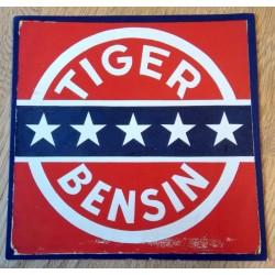 Postkort: Tiger Bensin - Esso - 100 år i Norge