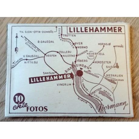 Lillehammer - Billedkort - 10 ekte fotos