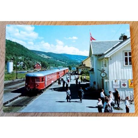 Postkort: Fagernes - Valdres