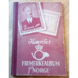 Kom og Se's frimerkealbum for Norge - N. M. S. Frimerkesamling