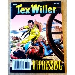 Tex Willer: Nr. 491 - Utpressing
