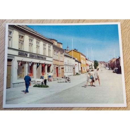 Postkort: Røros - Bergmannsgata