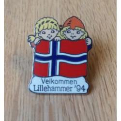 Pin: Velkommen - Lillehammer 1994 - OL