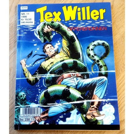Tex Willer: 1996 - Nr. 11 - Offerbrønnen