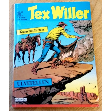 Tex Willer: 1989 - Nr. 10 - Kamp mot Proteus