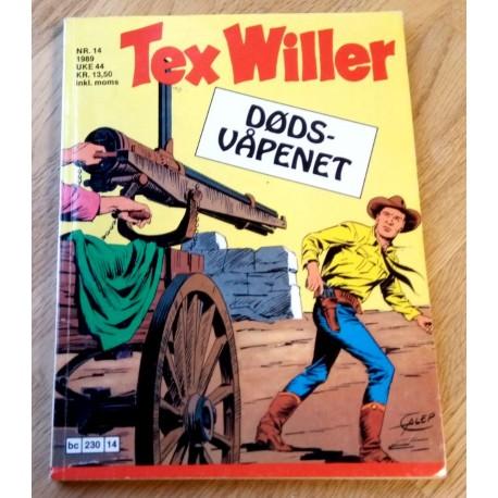 Tex Willer: 1989 - Nr. 14 - Dødsvåpenet