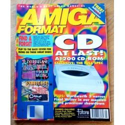 Amiga Format: 1994 - May - CD at last!