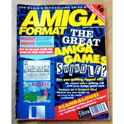 Amiga Format: 1994 - March - The Great Amiga Games Swindle?