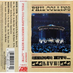 Phil Collins- Serious Hits- LIVE