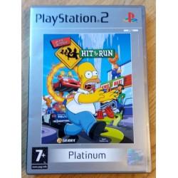 The Simpsons Hit & Run (Platinum) - Playstation 2