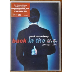 Paul McCartney- Back in the U.S (DVD)