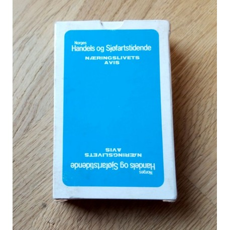 Kortstokk: Norges Handles og Sjøfartstidende - Næringslivets avis