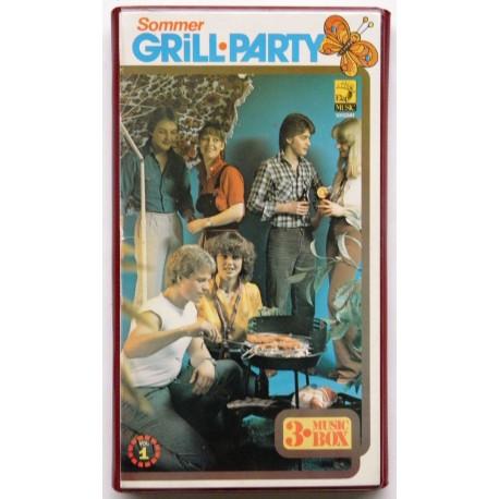 Grill-Part- Boks med tre kassetter