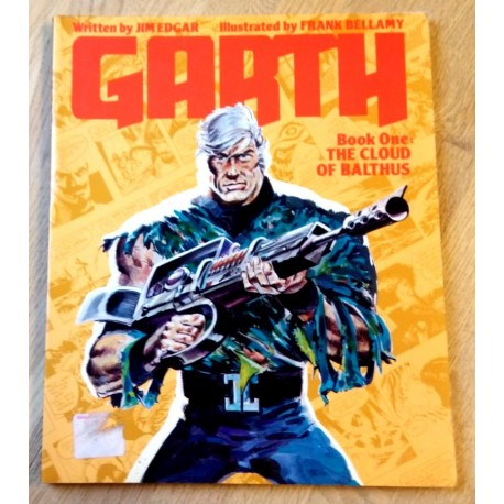 Garth - Book One - The Cloud of Balthus (tegneseriebok)