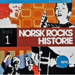 Norsk Rocks Historie- 1- 1958-1960 (CD)