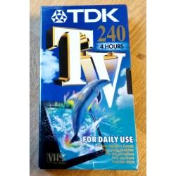 TDK - Opptakskassett - 240 minutter - Ny