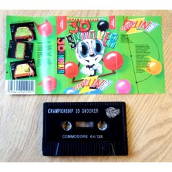 Championship 3D Snooker (Zeppelin Games) - Commodore 64 / 128