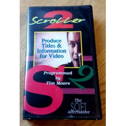 Scroller 2 - Produce Titles & Information for Video (The Soft Alternative) - Amiga