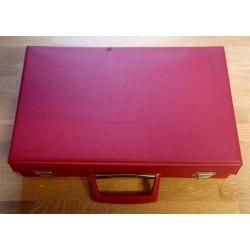 Kassettkoffert - Rød