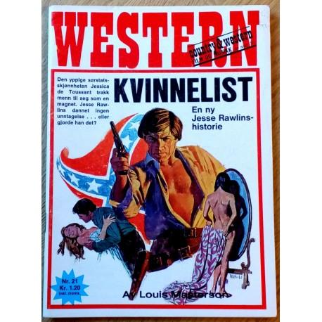 Western: 1970 - Nr. 21 - Kvinnelist