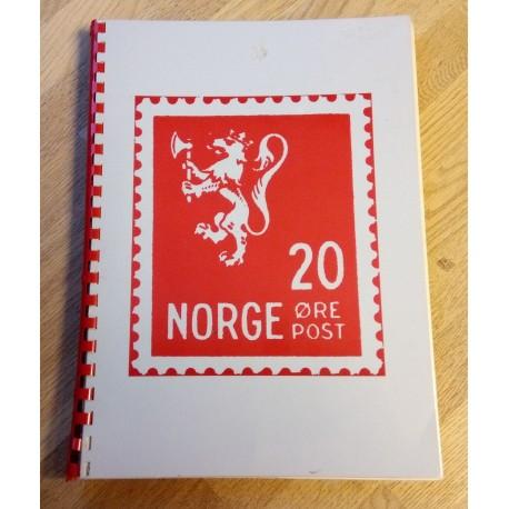 Frimerker: Norges-album med frimerker