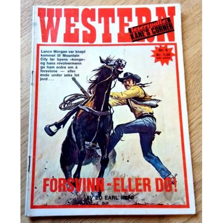 Western: 1973 - Nr. 6 - Forsvinn eller dø!