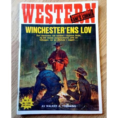 Western: 1973 - Nr. 2 - Winchester'ens lov
