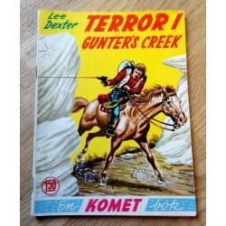 Komet-bok Nr. 182 - Terror i Gunter's Creek