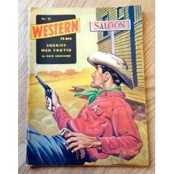 Western: 1961 - Nr. 33 - Sheriff med fortid