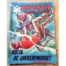 Detektivmagasinet: Nr. 32 - 986 - 3. august 1960