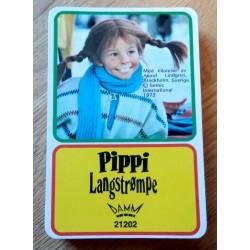 Pippi Langstrømpe - Firkort - Damm