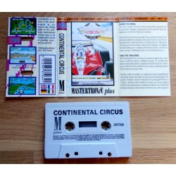 Continental Circus (Mastertronic Plus) - amstrad