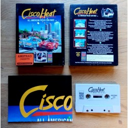 Cisco Heat - All American Police Car Race (Image Works) - Amstrad