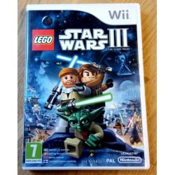 Nintendo Wii: Star Wars III - The Clone Wars (LucasArts)