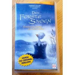 Den første snøen (VHS)