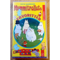 Mummitrollets favoritter (VHS)
