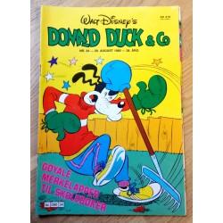Donald Duck & Co: 1985 - Nr. 34 - Med vedlegg bak i bladet