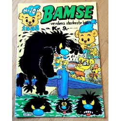 Bamse: 1988 - Nr. 10 - Skallmann og trollmannens røde blomst