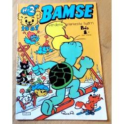 Bamse: 1987 - Nr. 2 - Den merkelige skistafetten