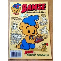 Bamse: 2001 - Nr. 7 - Bamse og Snikke Skogmus