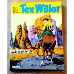 Tex Willer: 1981 - Nr. 7 - Heltene i Devil Pass